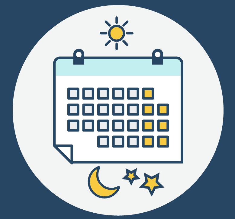 Darstellung Kalender