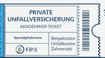 Private Unfallversicherung Kinoticket