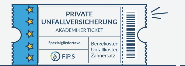 Private Unfallversicherung Kinoticket
