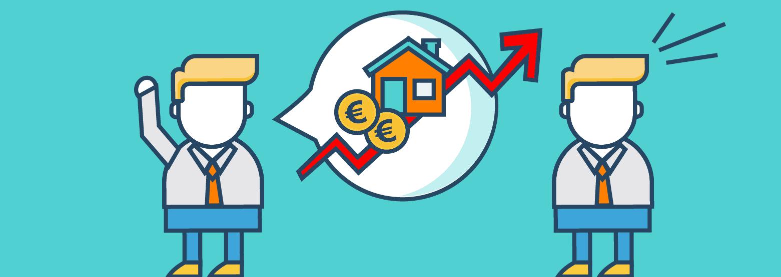 Steigen Immopreise immer?