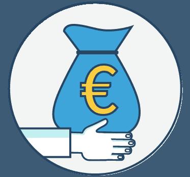 Ein Geldsack
