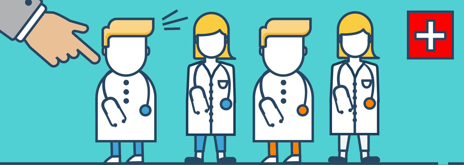 Verschiedene Ärzte