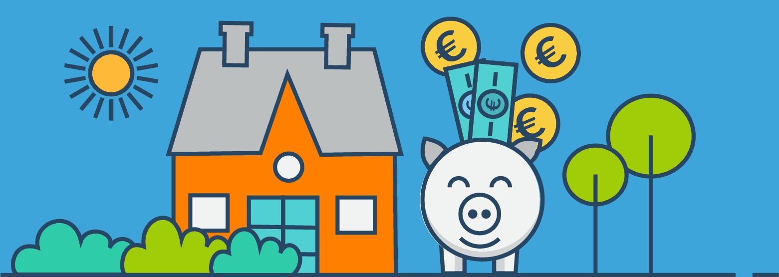 Immobilienkredit: So sparst du richtig viel Geld