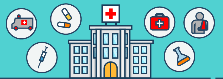 Nachbehandlung, Krankenhaus