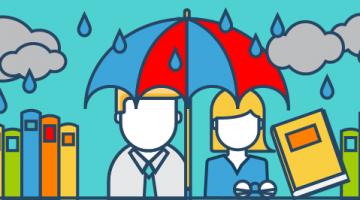 Mitversicherung Studenten Schirm