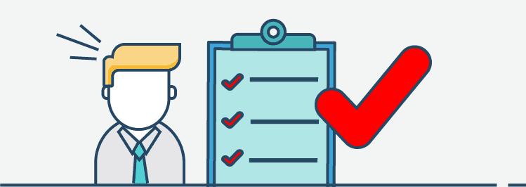 Checkliste Vorstellungsgespräch Fehler