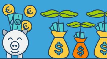 3 Tipps wie du richtig Geld sparen und Geld verdienen kannst