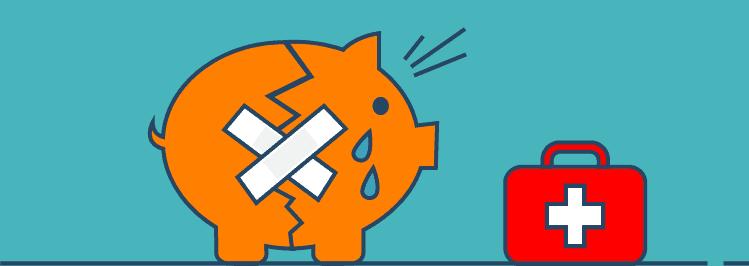 Altersvorsorge: nicht genug oder gar nicht für's Alter zu sparen - Sparschwein