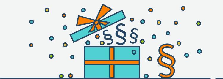 Geschenk: Inhalte Rechtsschutz
