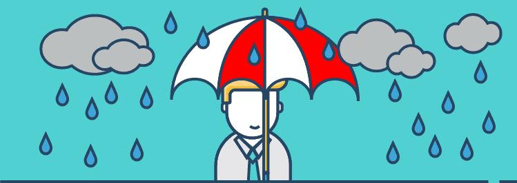 Regenschirm - Versicherung - Finanzplanung