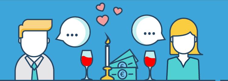 Thema Finanzen mit dem Partner ansprechen