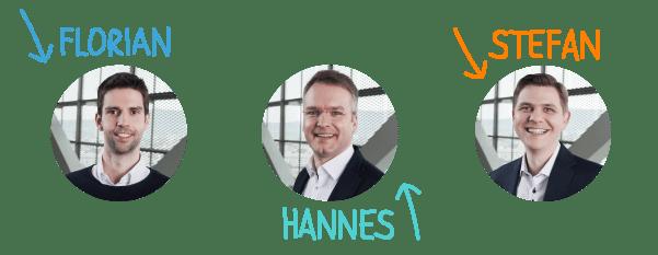 FiP.S Berater - Florian, Hannes, Stefan