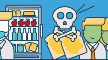 Toxische Glaubenssätze: Kühlschrank Butterbrot