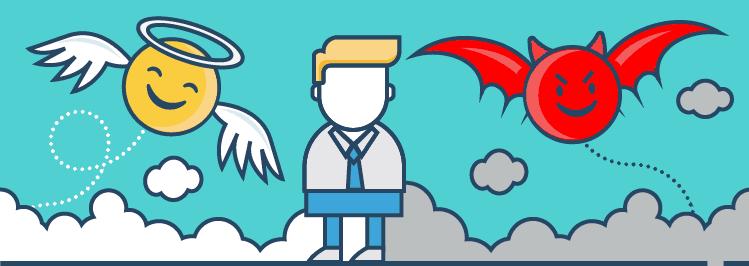 Langfristig Sparen: Devil and Angel