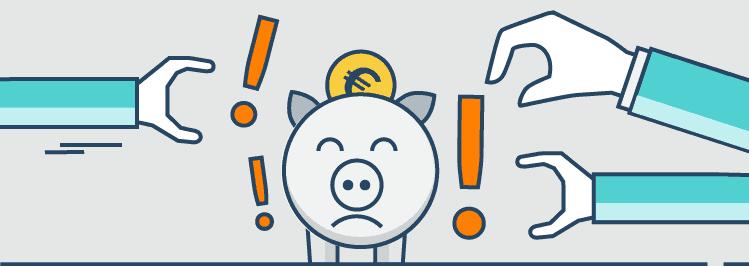 Sparschwein: Makler teure Empfehlung