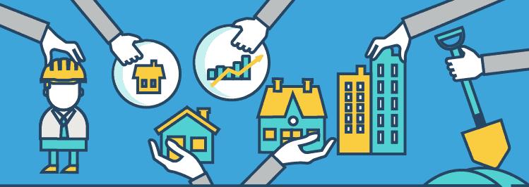 Varianten von Immobilieninvestments