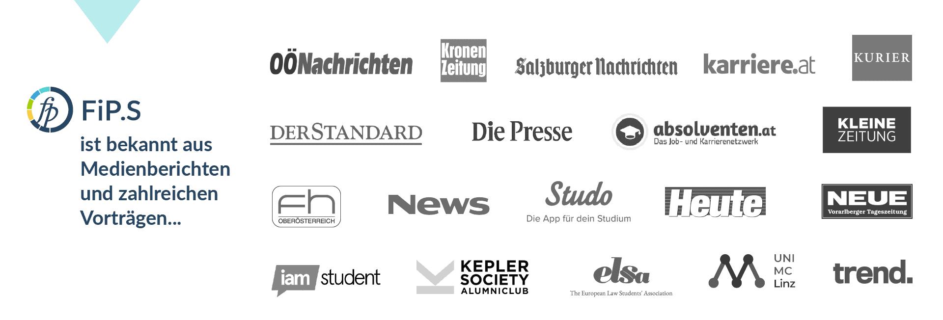 FiP.S Banner Zeitungen