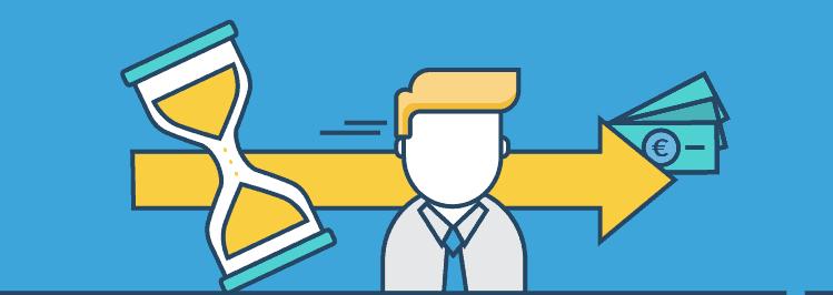 Sanduhr - Wie lange sollte jetzt die gesamte Laufzeit deiner Finanzierung sein?