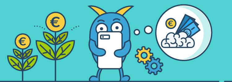 Prokrastination besiegen - Monster mit Handy