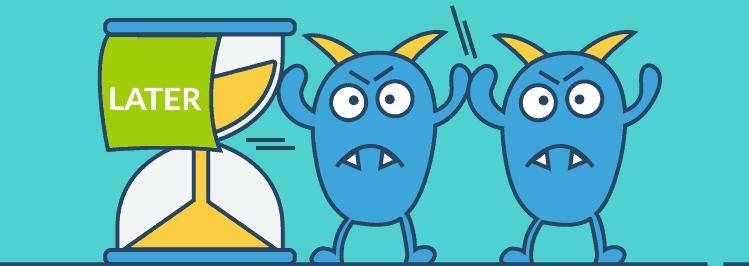 prokrastination monster