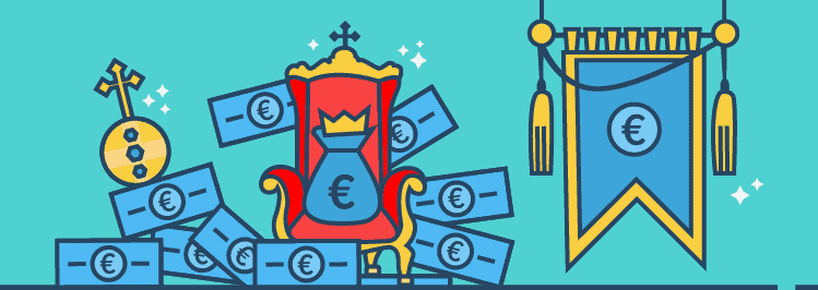 Tron mit Geld - Cash is King